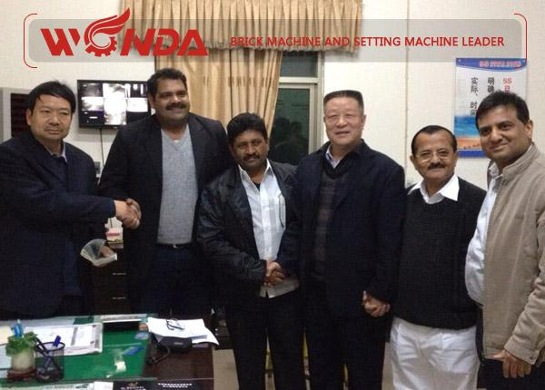 China Brick Machine Export to India