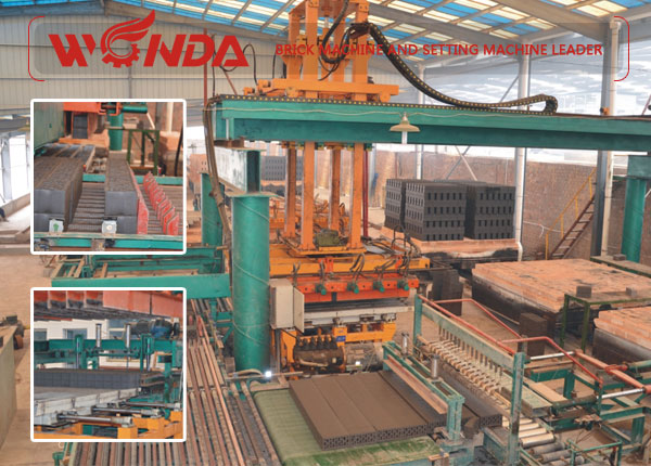 30-40 Million Shale/Gangue Brick Production Line